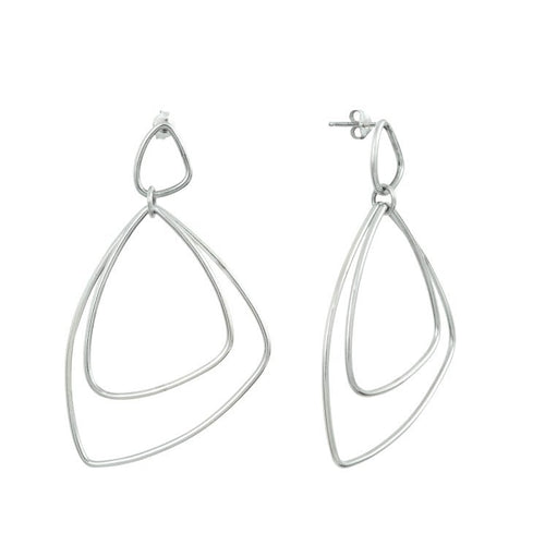 Aurore Havenne Silver Voluptueuses earring minimalist jewellery bijou simple