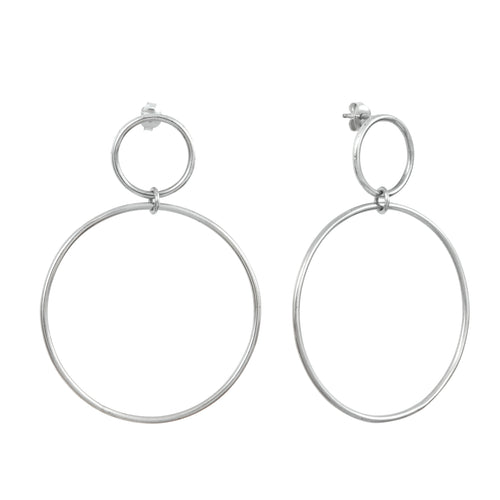 Aurore Havenne Silver Voluptueuses Earrings jewel bijou design elegant minimalist