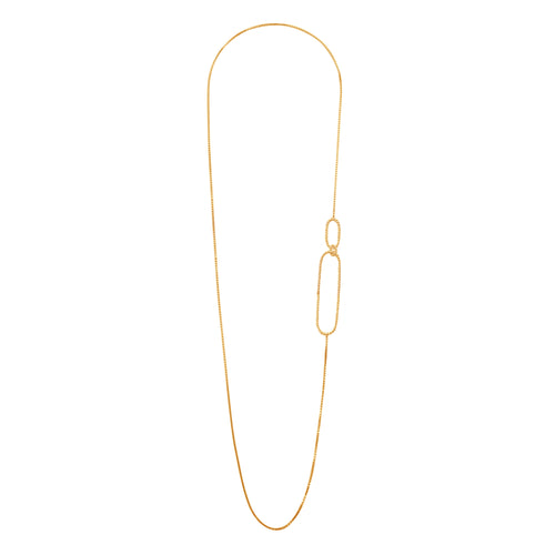 Gold plated silver Aphéléia Twist Necklace