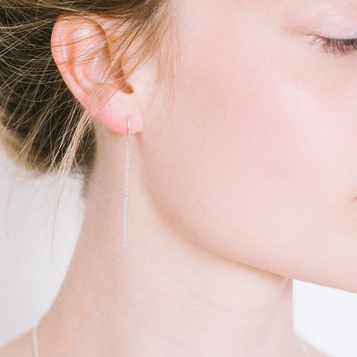 Silver Cara Earrings