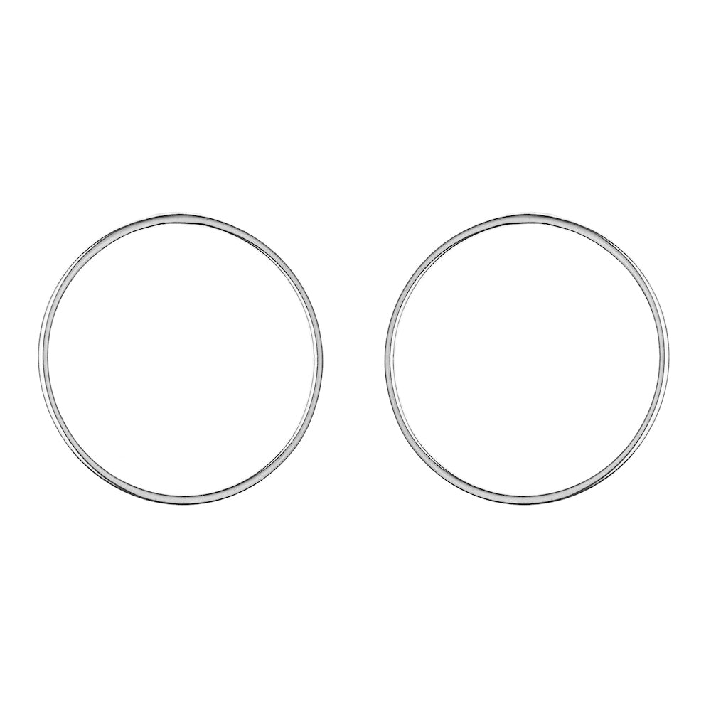 Aurore Havenne Silver Wire earrings minimalist jewellery bijou simple fin
