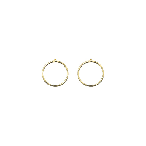 Gold Plated Silver Eva Earrings