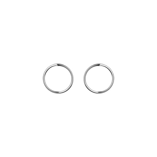 Aurore Havenne Silver lines earrings minimalist jewelry bijou simple small