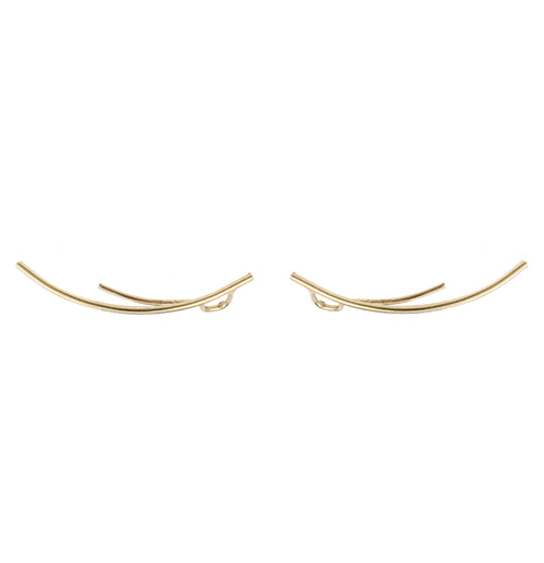 Aurore Havenne Gold plated silver Lines minimalist jewellery bijou simple