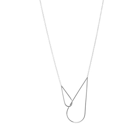 Gold plated silver Calista Necklace Twist