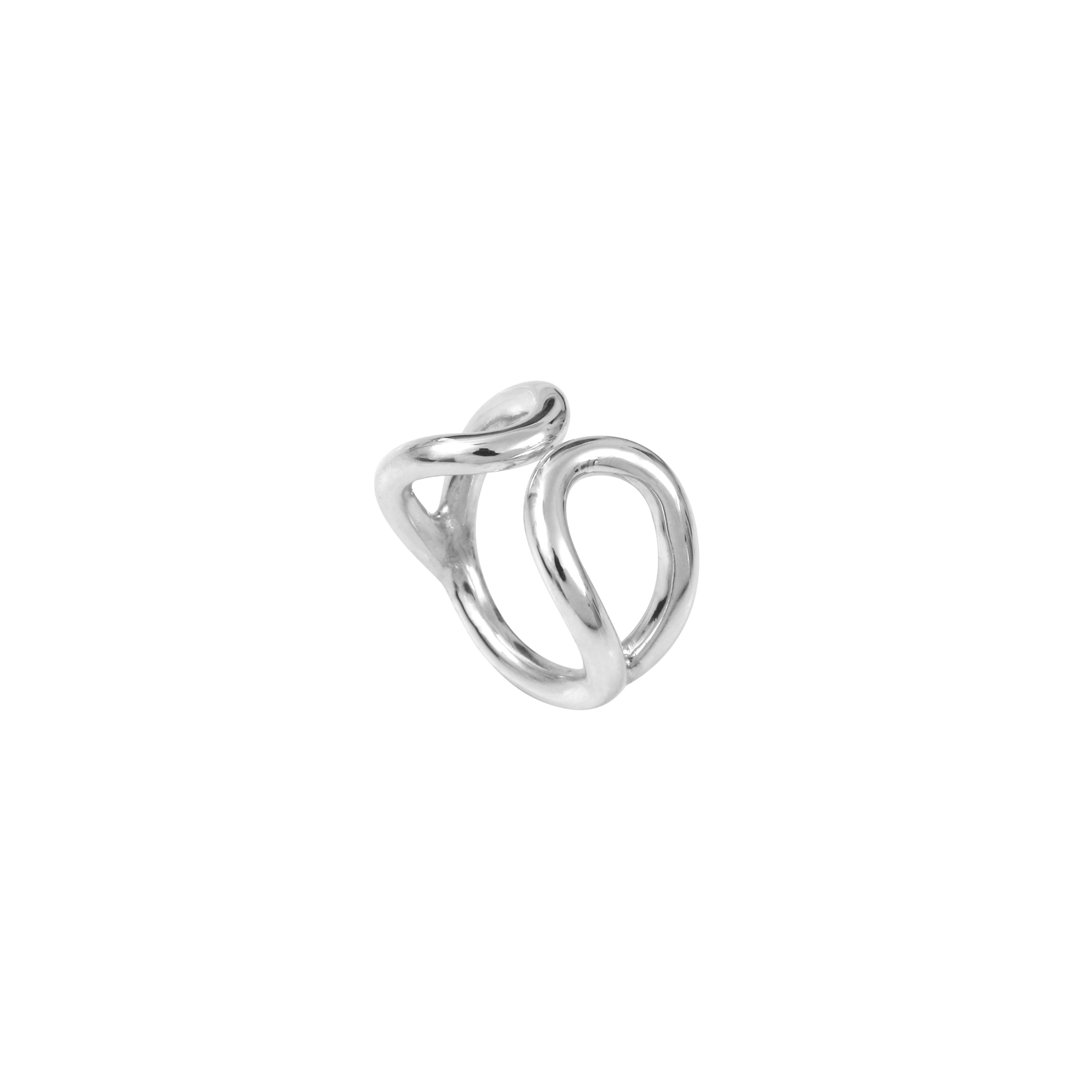 Aurore Havenne Silver Attracting Raindrops Ring minimalist jewellery bijou simple designer