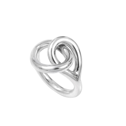 Silver Wire Open Ring 4mm