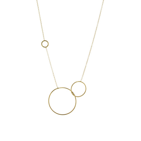Collier Raindrops Vermeil