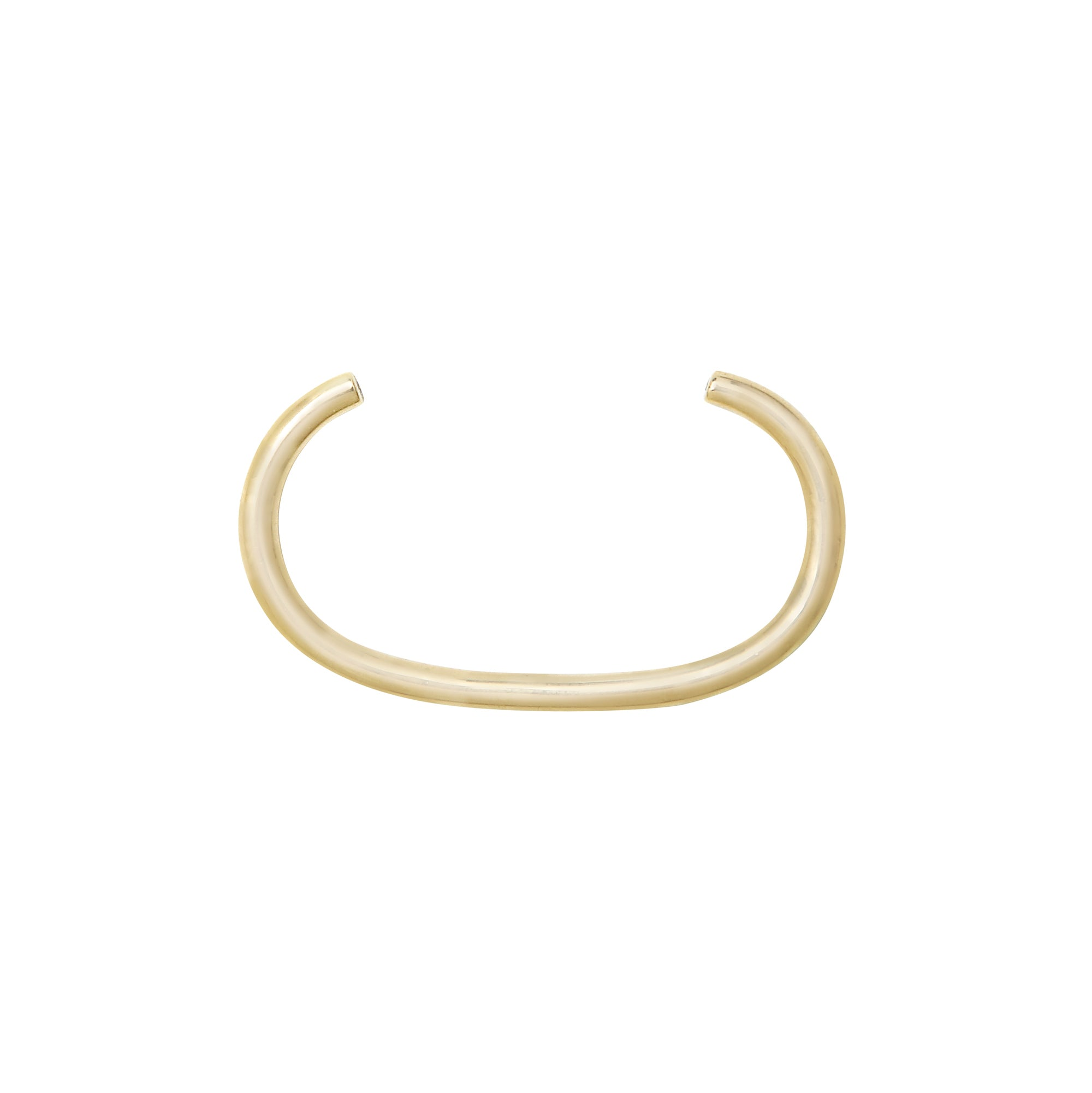 Aurore Havenne Gold and Diamond Tubular Double ring belgian designer bijou fin simple minimalist jewellery