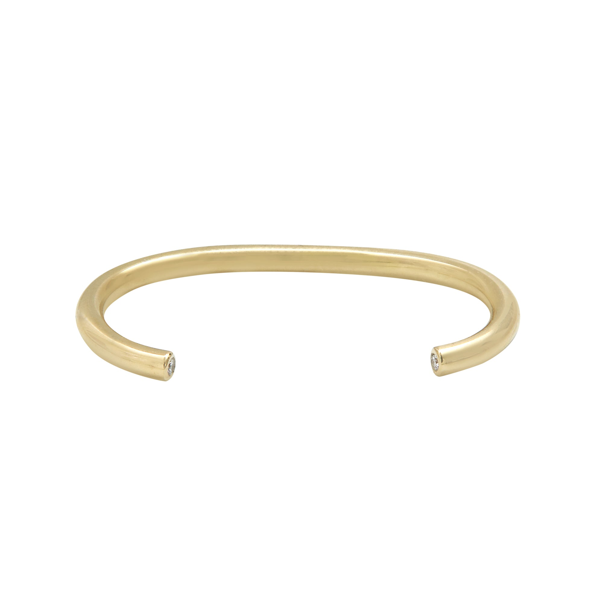 Aurore Havenne Tubular Gold and Diamond Double Ring minimalist jewellery bijou fin