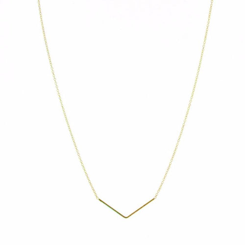 Collier unity triangle plaqué or, pour une multitude de looks
