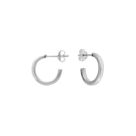 Silver Emma Earrings