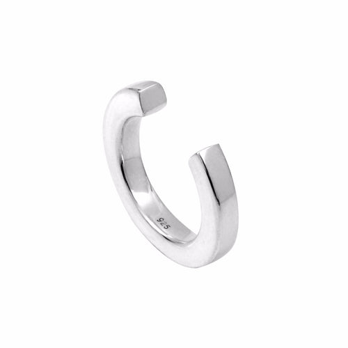 Aurore Havenne Silver open ring bijou simple fin minimalist jewelley