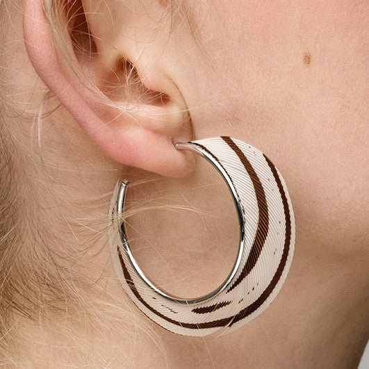 Silver Gina Earrings