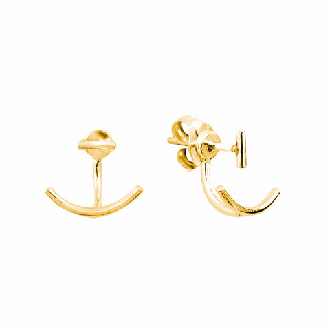 Gold Plated Silver Luisa Earrings