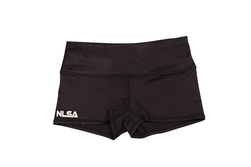 WOMEN'S BLACK BOOTY SHORT