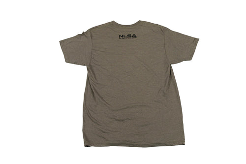 MEN'S GREEN HEATHER WITH BLACK VOLT T-SHIRT