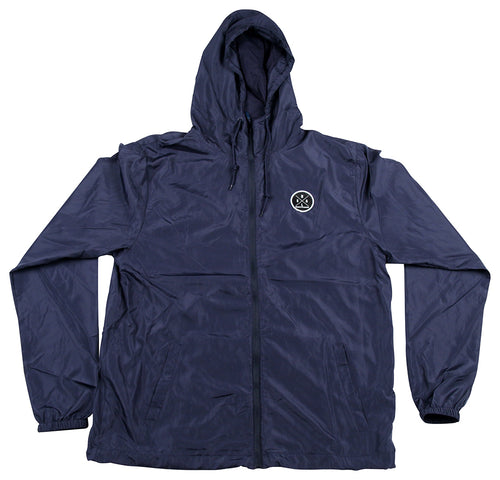 MEN'S NAVY BLUE WINDBREAKER