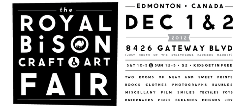 The Royal Bison Craft & Art Fair