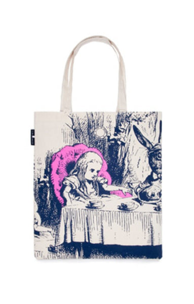 Tote Bag Alice In Wonderland Print