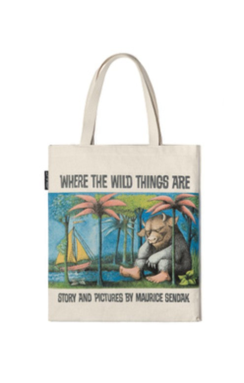 Tote Bag Where The Wild Things Are Print