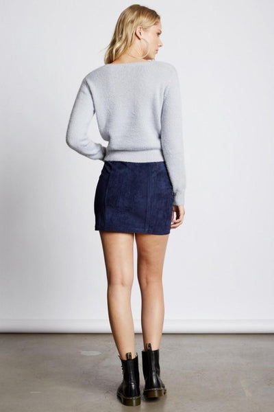Cross Solid Sweater