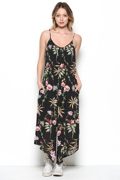 Floral Wide Leg Jumper