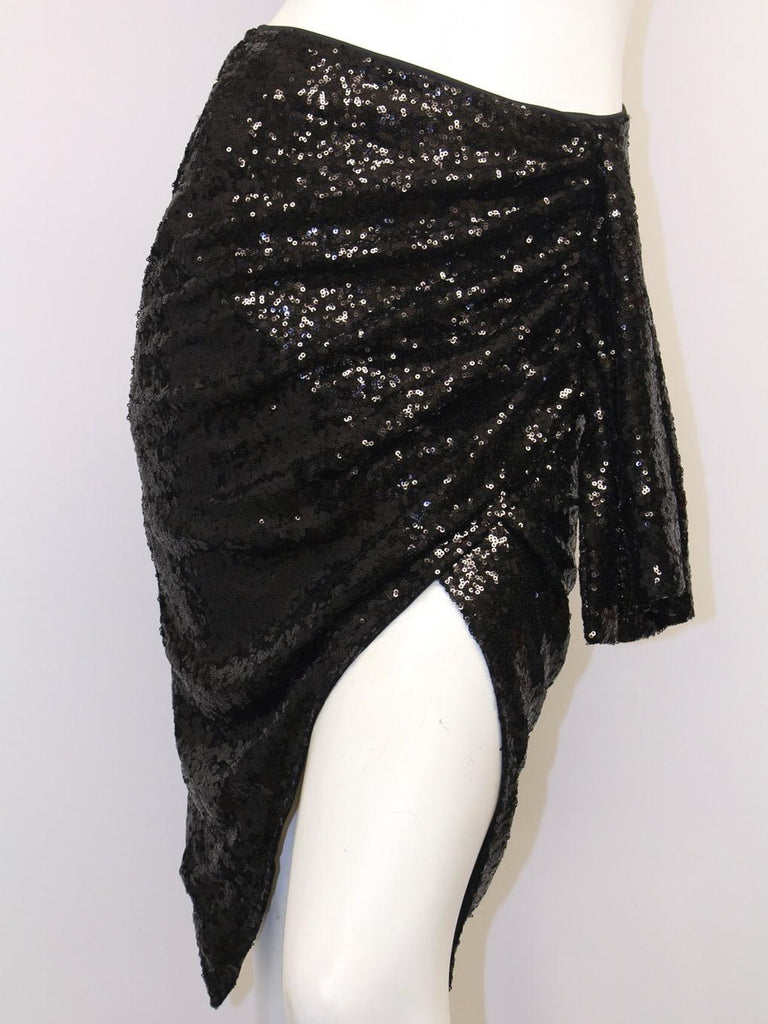 Sequin Skirt (Black or Silver)
