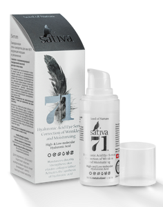 No.71 Hyaluronic Acid Eye Serum Correction of Wrinkles and Moisturizing