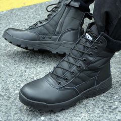 Leather Tactical Combat Boots