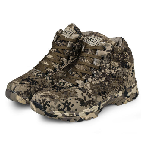Winter Camouflage Tactical Military Combat Boots