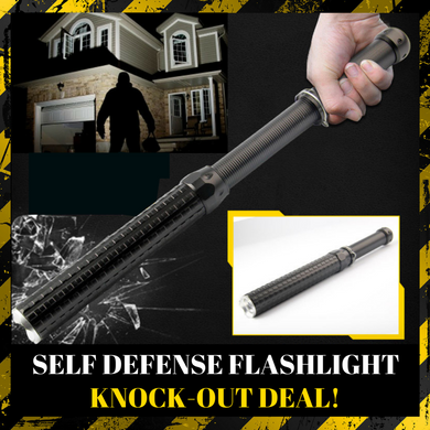 3 MODE CREE SELF DEFENSE FLASHLIGHT
