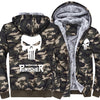 Image of CAMOUFLAGE PUNISHER HOODIES