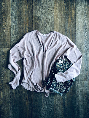 Knit Button Up