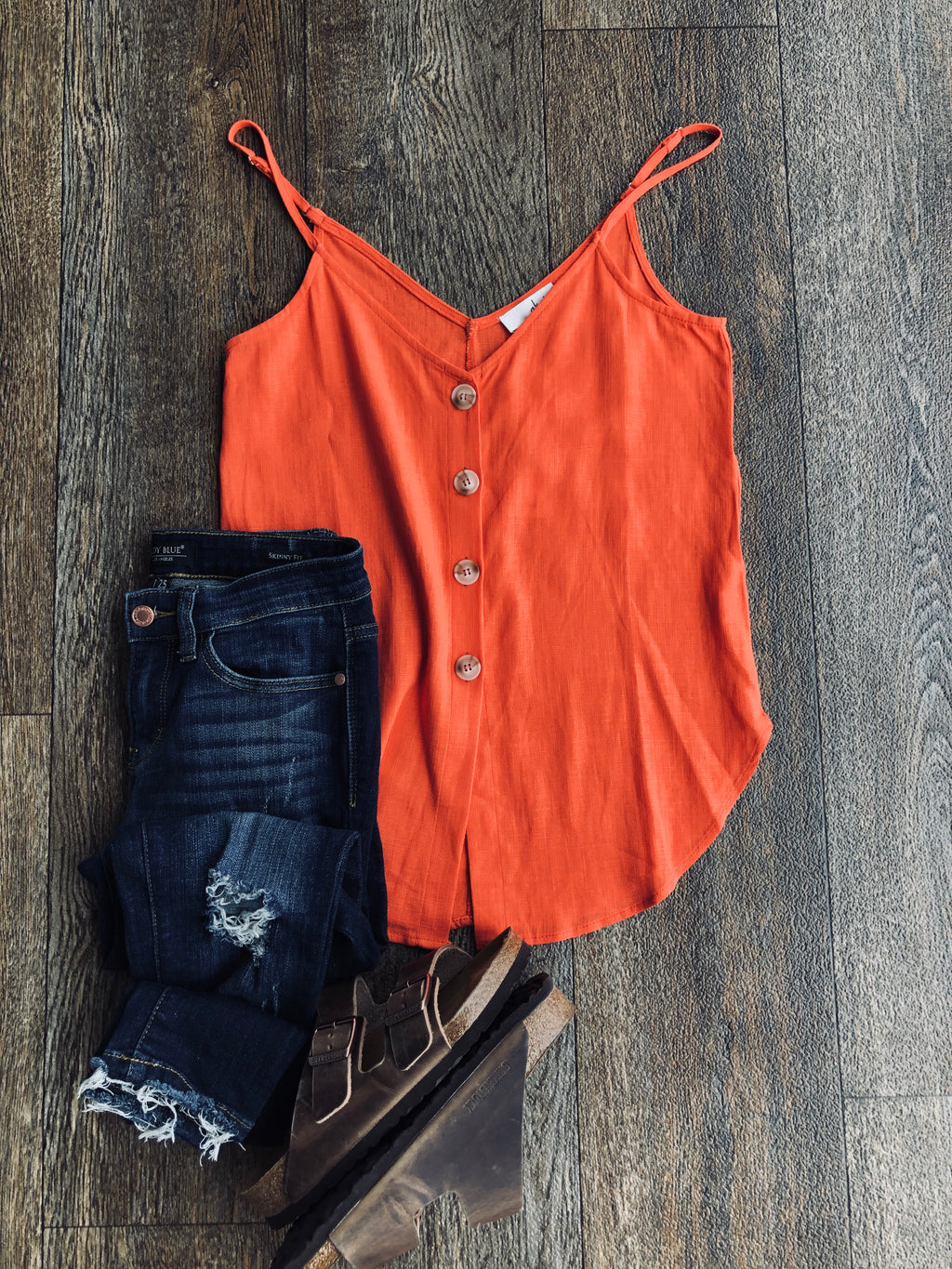 Fiesta Button Up Cami