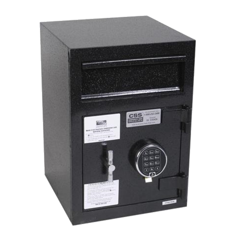 Single Door Depository Safe with Mail Drop