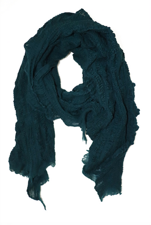 Multi Style Scarf - Emerald Green