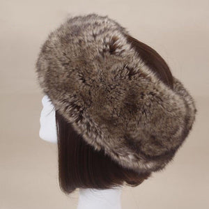 Women's Faux Fur Headband and Earwarmer
