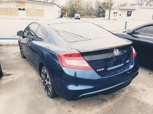 2013 HONDA CIVIC SI FWD 4 CYL BLUE