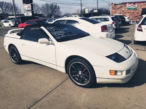 1993 NISSAN 300ZX V6 CONVERTIBLE WHITE