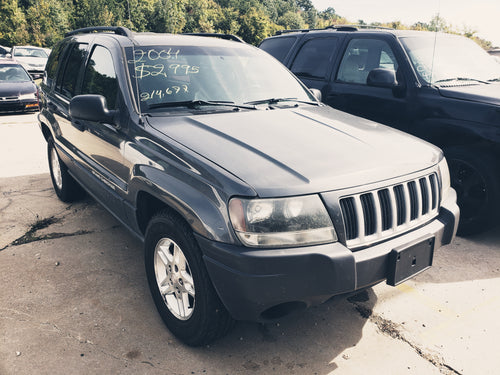 2004 JEEP GRAND CHEROKEE LAREDO RWD V6 GREY