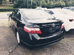 2008 TOYOTA CAMRY CE FWD 4 CYL BLACK