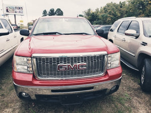 2011 GMC SIERRA 1500 SLE 4X4 V8 RED