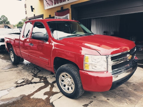 2013 CHEVY SILVERADO 1500 LT RWD V8 RED
