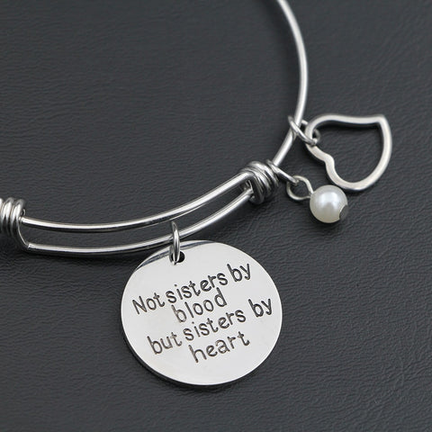 Sisterhood Bangle Bracelet