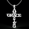 Image of Amazing Grace Cross Necklace