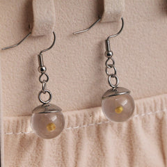 Mustard Seed Ball Earrings