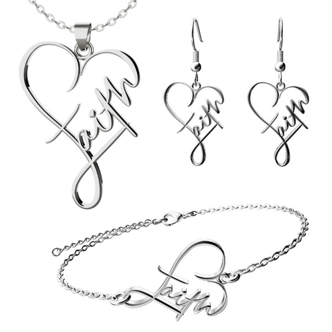 Faith Heart Gift Set