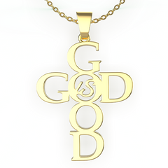 (Gold) God is Good Necklace