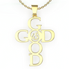 Image of (Gold) God is Good Necklace
